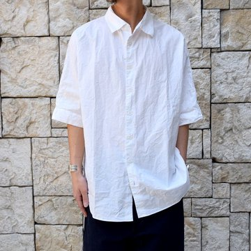 【40% OFF SALE】 CASEY CASEY(ケーシーケーシー)/WAGA SHIRT -WHITE- #12HC122