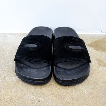 REPRODUCTION OF FOUND(リプロダクション オブ ファウンド)/ GERMAN MILITARY SANDALS -BLACK- #1738L