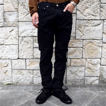 OLD PARK / SHIFT JEANS -BLACK- #OP-344