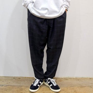 【30% OFF】Graphpaper(グラフペーパー)Reda Check Cook Pants  GM193-40099