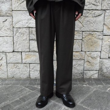 2019[AW]yoke(ヨーク) Wide Pajama Pants -BROWN-YK19AW0074P-