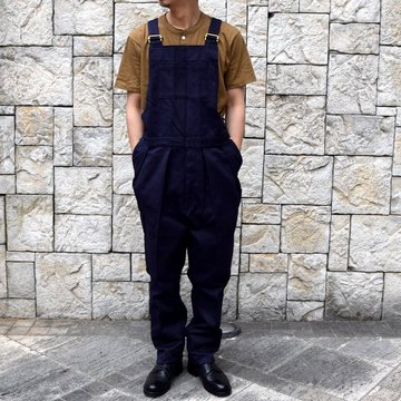 【2020 SS】NEAT(ニート)/ COTTON PIQUE ''OVERALL'' -NAVY- #20-01CPO-NV