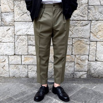 【30% off sale】【2020 SS】 MARKAWARE(マーカウェア)/ PEGTOP TROUSERS -OLIVE KHAKI- #A20A-04PT01C