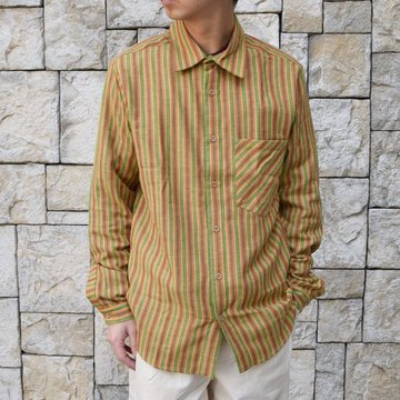 【2020 SS】FRANK LEDER(フランクリーダー) / COTTON SHIRT -YELLOW- #0836008