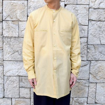 【30% off sale】【2020】MAATEE&SONS(マーティーアンドサンズ)/ BAND COLOR SHIRT -2色展開- #MT0103-0602A
