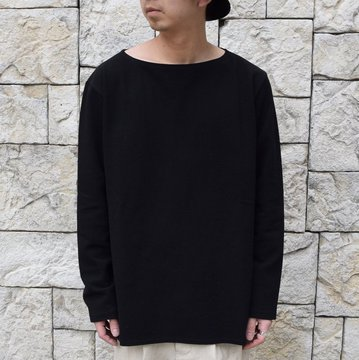 【30% off sale】【2020】MAATEE&SONS(マーティーアンドサンズ)/ JAPANESE PAPER BOAT NECK -2色展開- #MT0103-0801