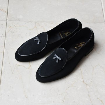 Needles(ニードルズ) Suede Slip-On With Bow #GL321