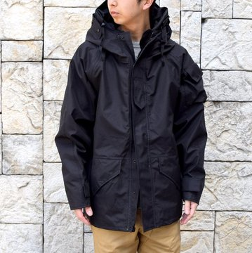 SWEDISH ARMY ''GORETEX JACKET'' DEAD STOCK -BLACK- #MILITARY232