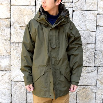 SWEDISH ARMY ''GORETEX JACKET'' DEAD STOCK -KHAKI- #MILITARY232