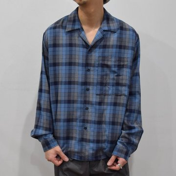 YOKE(ヨーク)/OVER SIZED SHIRTS -BLUE- #YK20SS0094SH