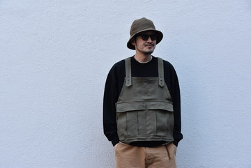 【2020 SS】BROWN by 2-tacs SEED IT -OLIVE- #B23-V002