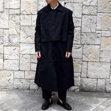 【2020 SS】 toogood(トゥーグッド)/ THE CONDUCTOR COAT COTTON RIPSTOP -FLINT-