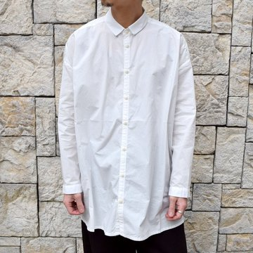 【2020】 toogood(トゥーグッド)/ THE DRAUGHTSMAN SHIRT POPLIN -CHALK-