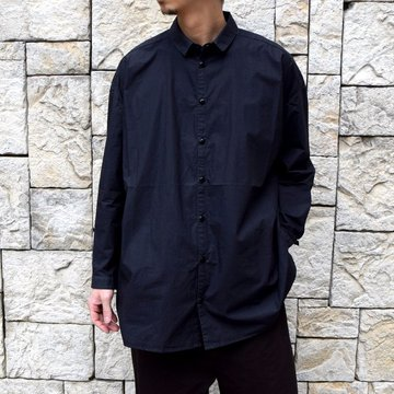 【2020 SS】 toogood(トゥーグッド)/ THE DRAUGHTSMAN SHIRT POPLIN -FLINT-