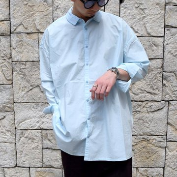 【2020】 toogood(トゥーグッド)/ THE DRAUGHTSMAN SHIRT POPLIN -POWDER-