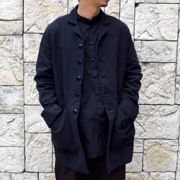 【2020 SS】 toogood(トゥーグッド)/ THE PHOTOGRAPHER JACKET CANVAS -FLINT-