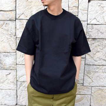 【2020 SS】AURALEE(オーラリー)/ STAND UP TEE -BLACK- #A20ST01SU