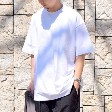 【2020 SS】Graphpaper (グラフペーパー)/ OVERSIZED TEE S/S -WHITE- #GU201-70204B