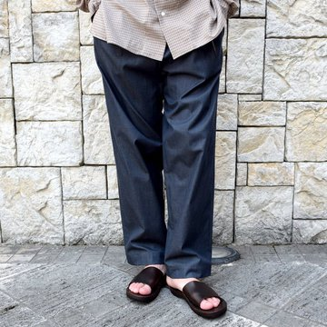 【2020 SS】 EEL products(イ—ルプロダクツ)/ CT PANTS -(27)CHARCOAL- #E-20204
