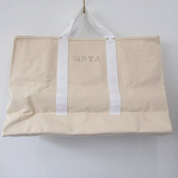 VINTAGE(ヴィンテージ)/ MBTA TOTE BAG -NATURAL- #VINTAGE03