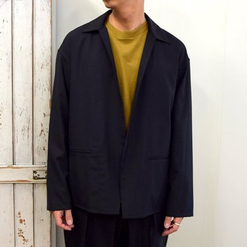 【2020】YOKE(ヨーク)/ JACKET CARDIGAN -BLACK- #YK20AW0137J