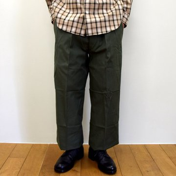 【2020】Dead Stock(デッドストック)/ 70's French Air Force Utility Trousers -OLIVE- #MILITARY225