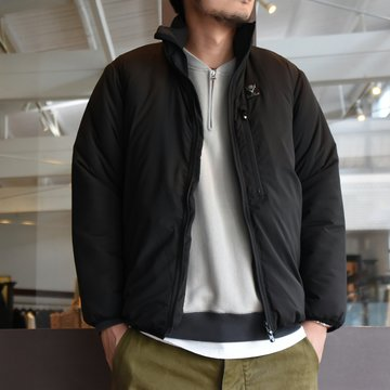South2 West8(サウスツーウエストエイト)Insulator Jacket-Peach Skin-BLACK- #HM812