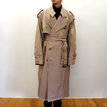 【2020】stein(シュタイン)/ DEFORMATION TRENCH COAT -2色展開- #ST-175-1