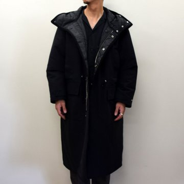 【2020】YOKE(ヨーク)/ REVERSIBLE MOUNTAIN COAT -BLACK- #YK20AW0136C