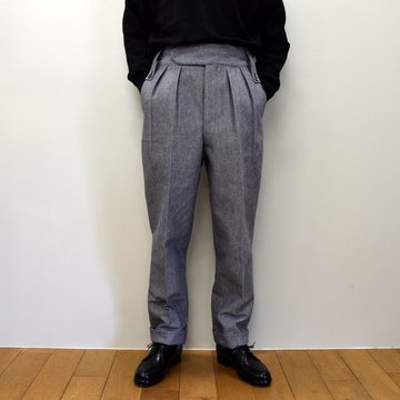 【2020】NEAT(ニート)/ AWC WOOL COTTON ‐ BELTLESS‐ 20-02AOB