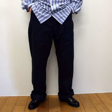 E. TAUTZ(イートウツ)/ FIELD TROUSER-NAVY-  6311702009-BE