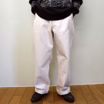 E. TAUTZ(イートウツ)/ FIELD TROUSER-NATURAL-  6311702002