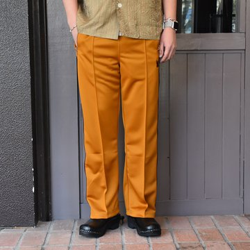 [2021]NEEDLES(ニードルス) TRACK PANT POLY SMOOTH -MUSTARD- #IN181