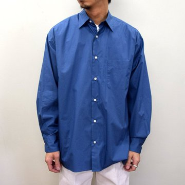 MARKAWARE(マーカウェア)/ COMFORT FIT SHIRT -CYAN BLUE- #A21A-07SH01C