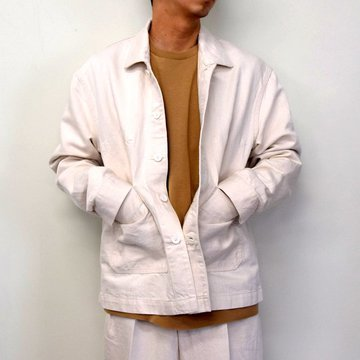 MARKAWARE(マーカウェア)/ WORK JACKET -WHITE- #A21A02BL01C