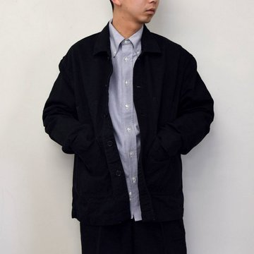MARKAWARE(マーカウェア)/ WORK JACKET -BLACK- #A21A02BL01C