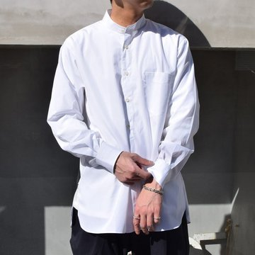 MAATEE&SONS(マーティーアンドサンズ)/ PULLOVER SHIRTS -WHITE- #MT1103-0606