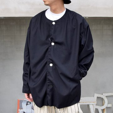 ISSUETHINGS(イシューシングス)/ NO COLLAR JACKET -2Color- #