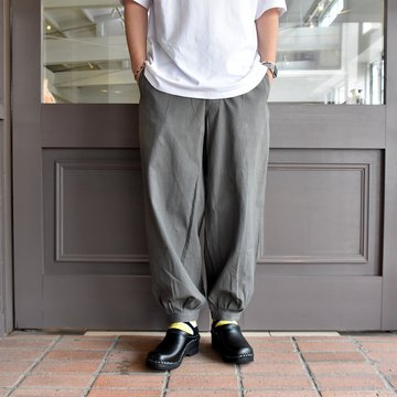 [2021]amachi.(アマチ) DetachablePocket Work Pants-Charcoal Dye- #AY8-22