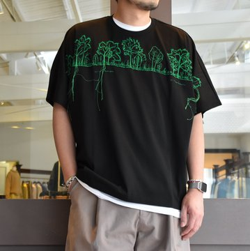 [2021]amachi.(アマチ) 28-77 Years T-Shirt-Black- #AY8-18