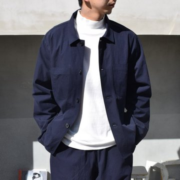 21SS holk (フォーク) coverall -midnight- #HOLK-004