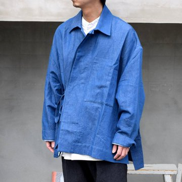 toogood(トゥーグッド)/ GLASSBLOWER JACKET -INDIGO-