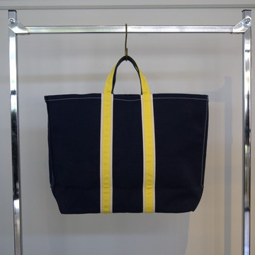 TEMBEA(テンベア)3TONE TOTE-NAVY/NATURAL/YELLOW- #TMB-1871N