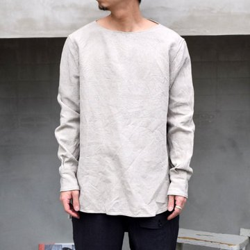SUS-SOUS (シュス)/ SLEEPING SHIRTS -NATURAL- #05-SS01410