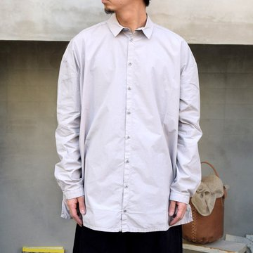 toogood(トゥーグッド)/ THE DRAUGHTSMAN SHIRT POPLIN -PALE SLATE-