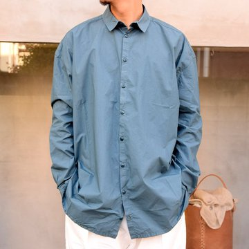 toogood(トゥーグッド)/ THE DRAUGHTSMAN SHIRT POPLIN -FOG-