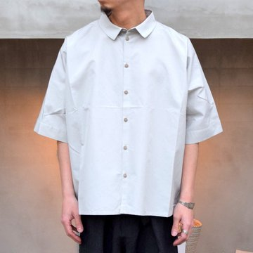 toogood(トゥーグッド)/ THE GARDENER SHIRT SHORT POPLIN -CELADON-