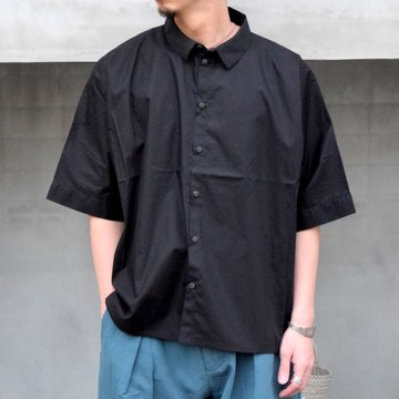 toogood(トゥーグッド)/ THE GARDENER SHIRT SHORT POPLIN -FLINT-