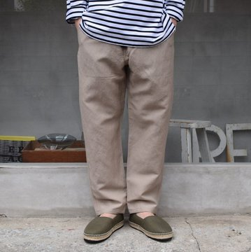 BROWN by 2-tacs (ブラウンバイツータックス)/ EASY PANTS -BEIGE- B25-P006