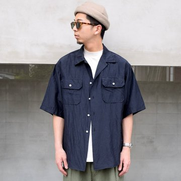 KAPTAIN SUNSHINE (キャプテンサンシャイン)/ OPEN COLLAR SS SHIRT -3Color- #KS21SSH08